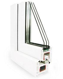 Пластиковые окна REHAU Ecosol-design
